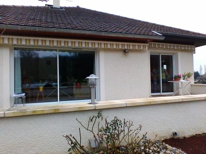 R alisation d 39 une extension sur l vation guillot p2a for Agrandissement maison bourgoin jallieu