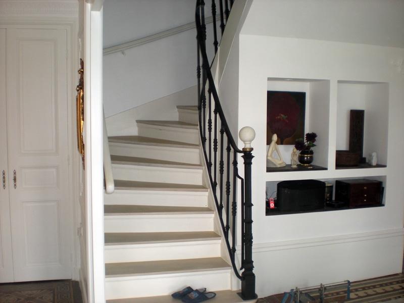 Refection d'un escalier ancien