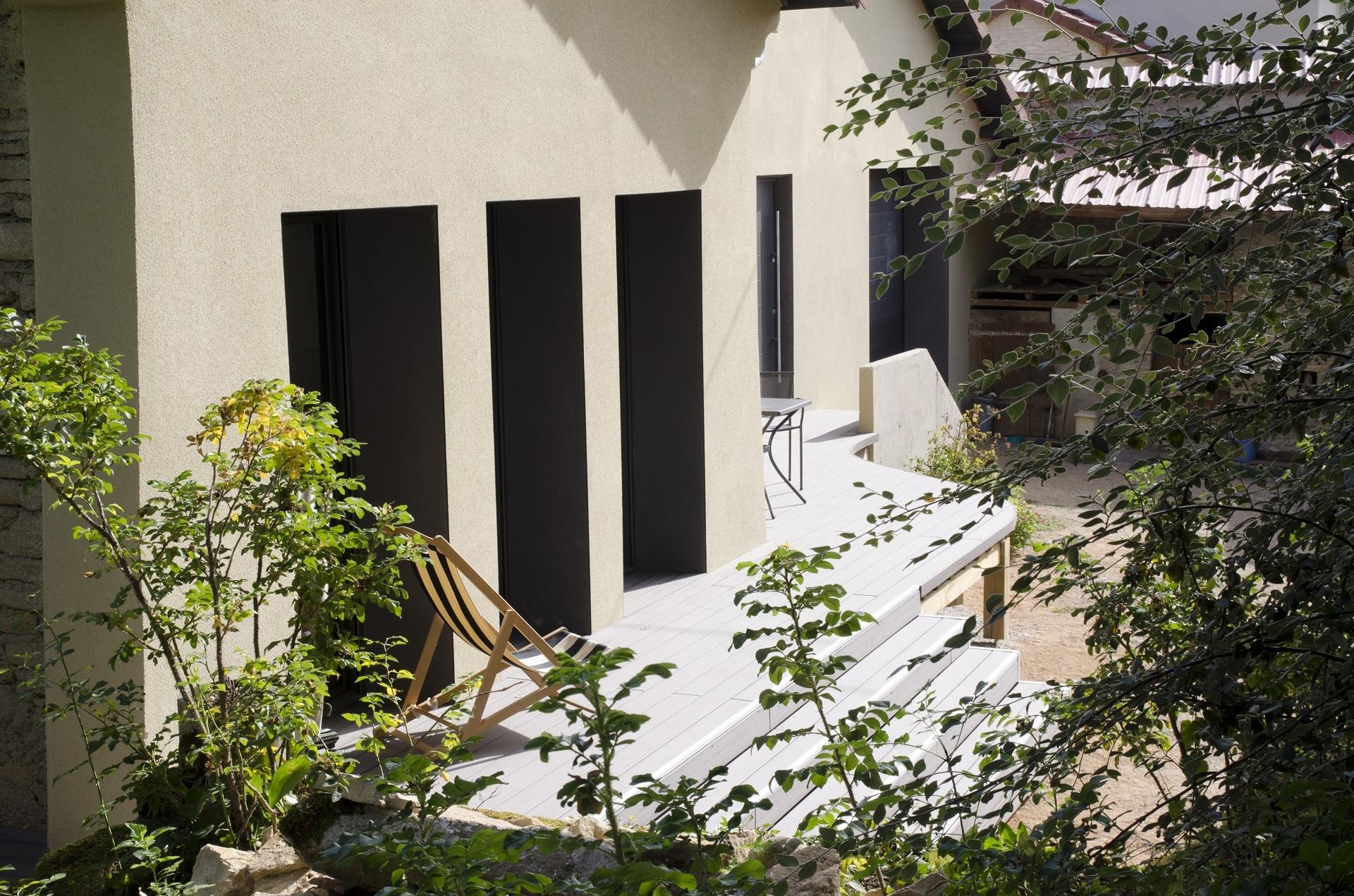 R novation compl te maison bourgoin jaillieu guillot p2a for Renovation complete maison