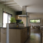 Cuisine contemporaine travaux renovation maison Guillot P2A