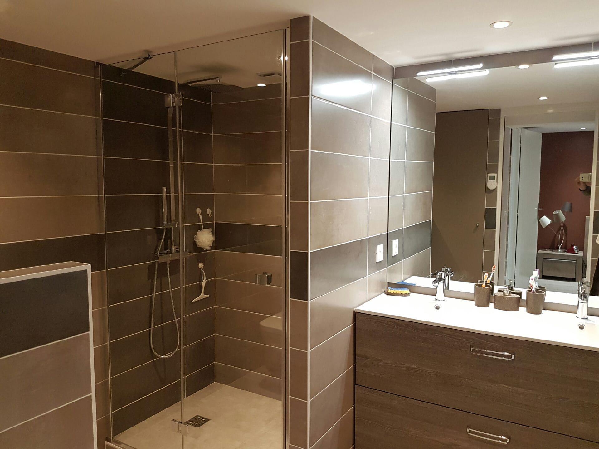 Renovation salle de bain - GuillotP2A Bourgoin