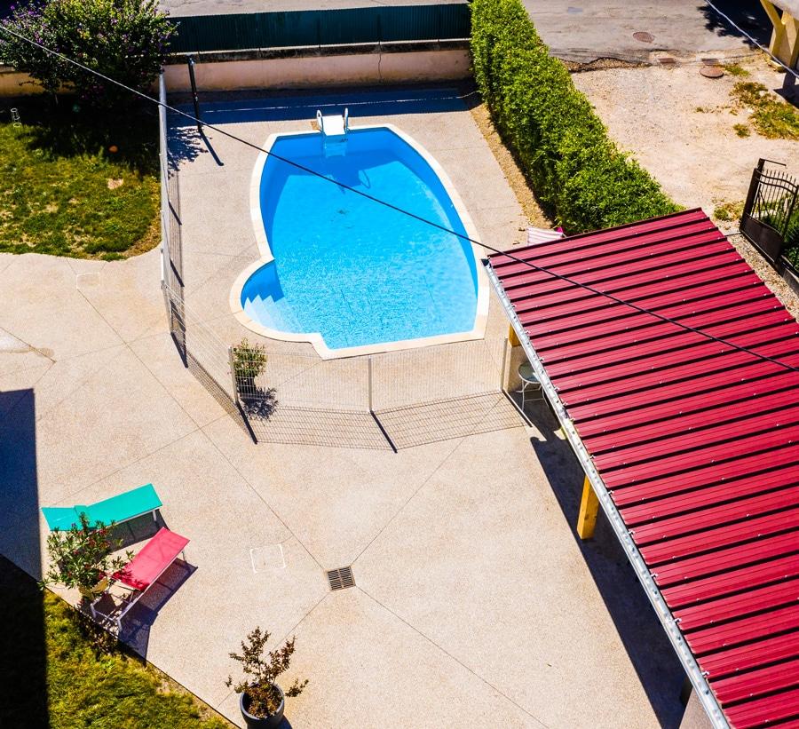 Construction d'une piscine et terrasse - GuillotP2a