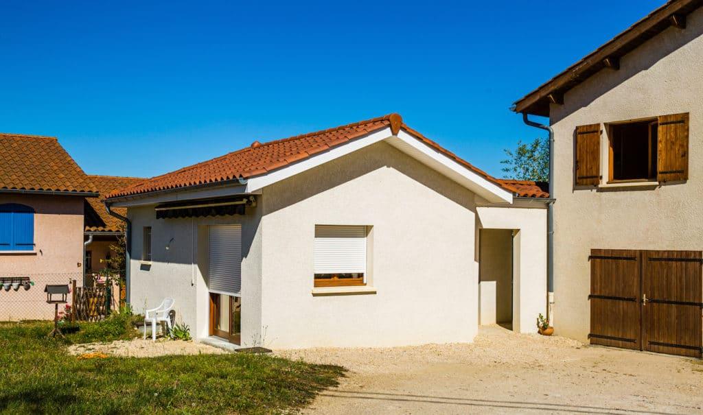 extension maison saint savin isère