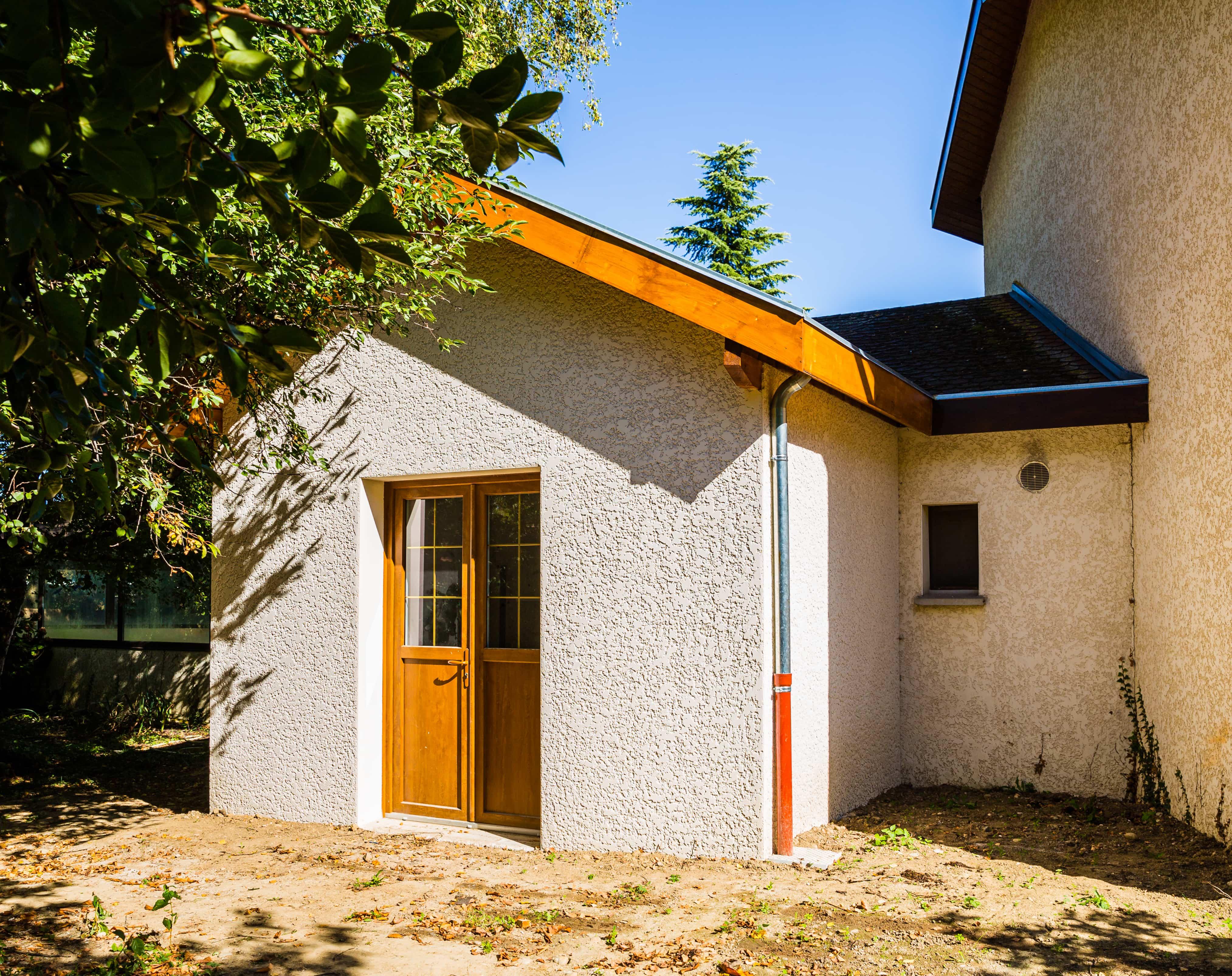 Extension de maison de plain-pied à Saint-Savin