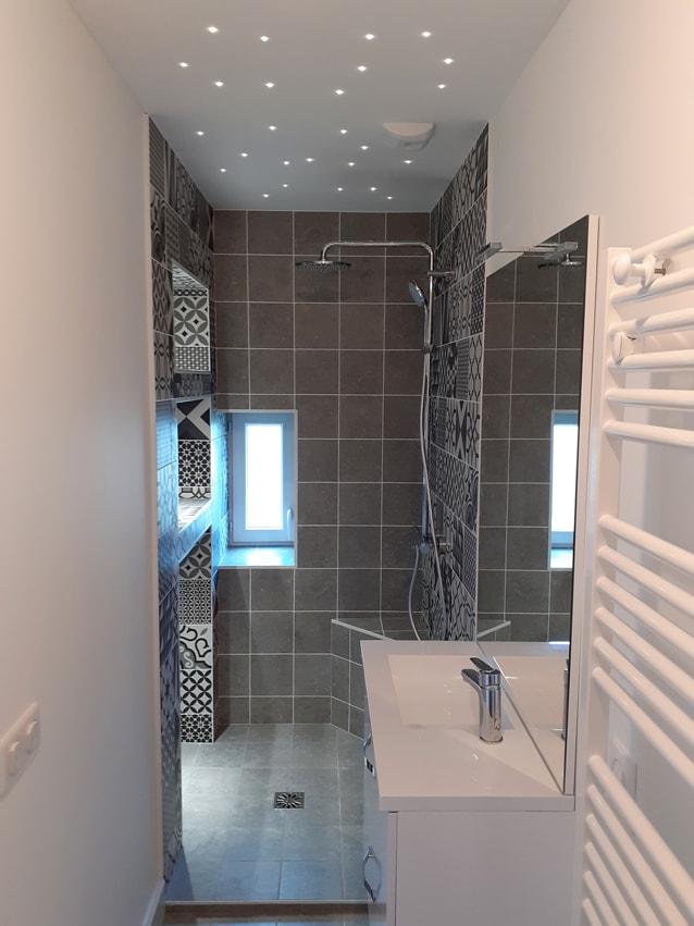 Rénovation modernisation salle de bain secteur Isère